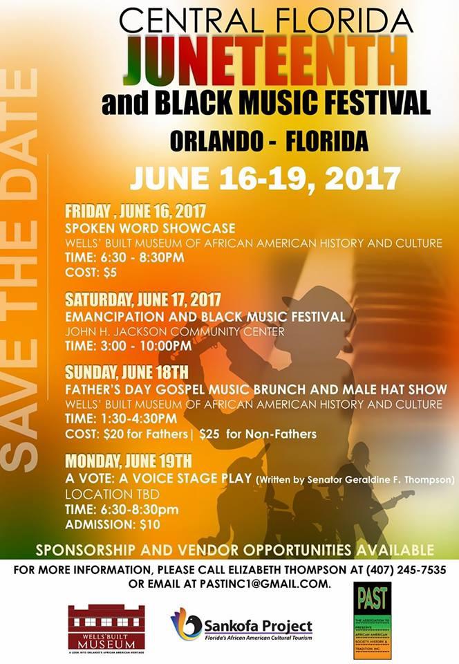 Central Florida Juneteenth Black Music Festival