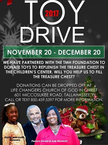 Kaylin's Caring Konnection Toy Drive