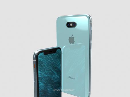 美! iPhone9渲染圖曝光新增蒂芬妮藍瀏海依舊存在