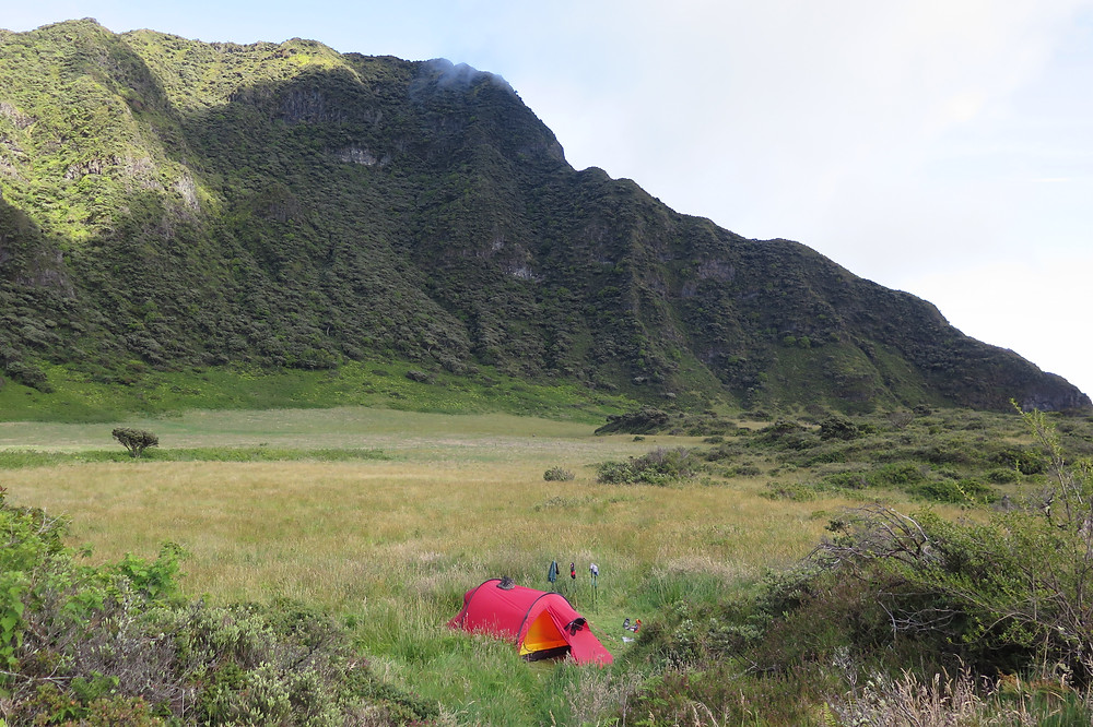 Palikū Campsite in Haleakalā National Park Crater