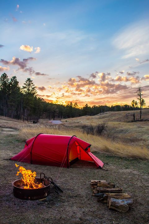 Facebook - Campsite at Wind Cave National Park in the Black Hills of South Dakot