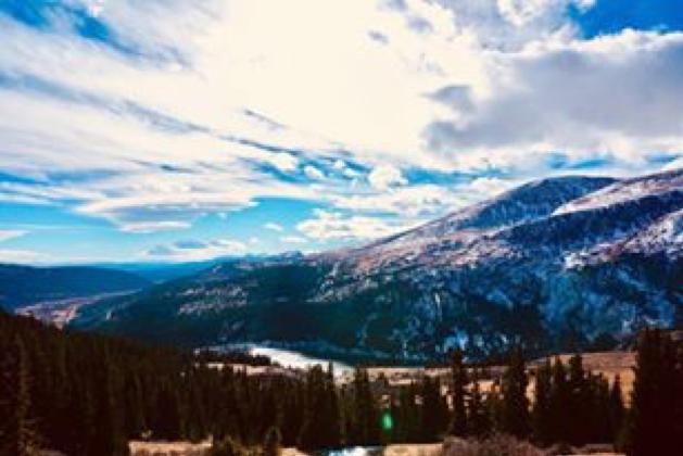 Vista from Hoosier Pass