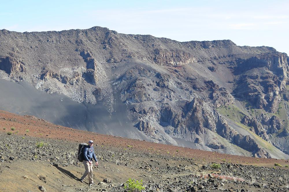 Mark on Sliding Sands Trail
