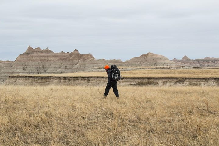 Facebook - Backpacking the Badlands with Katie Mummert