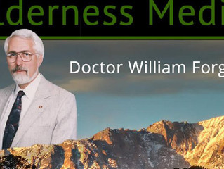 "Wilderness Medical Society spotlights MSM Founder William ""Doc"" Forgey, MD"