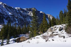 A quaint cabin near Quandary