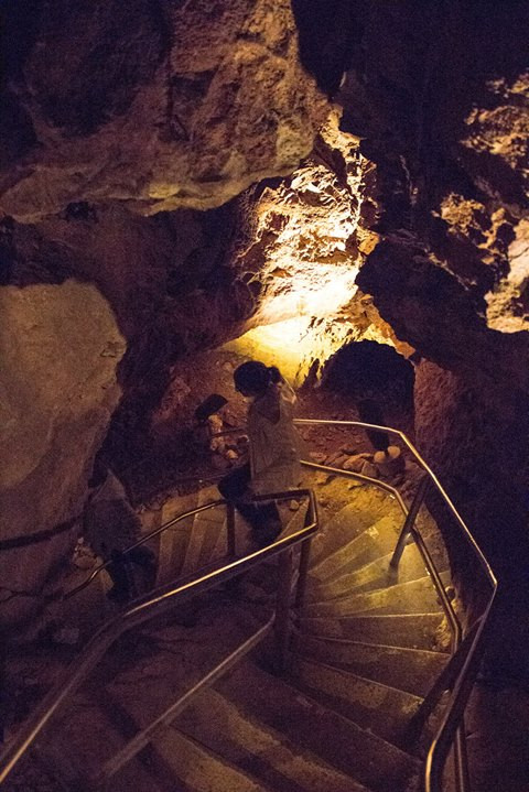 Facebook - Touring Wind Cave with Katie Mummert