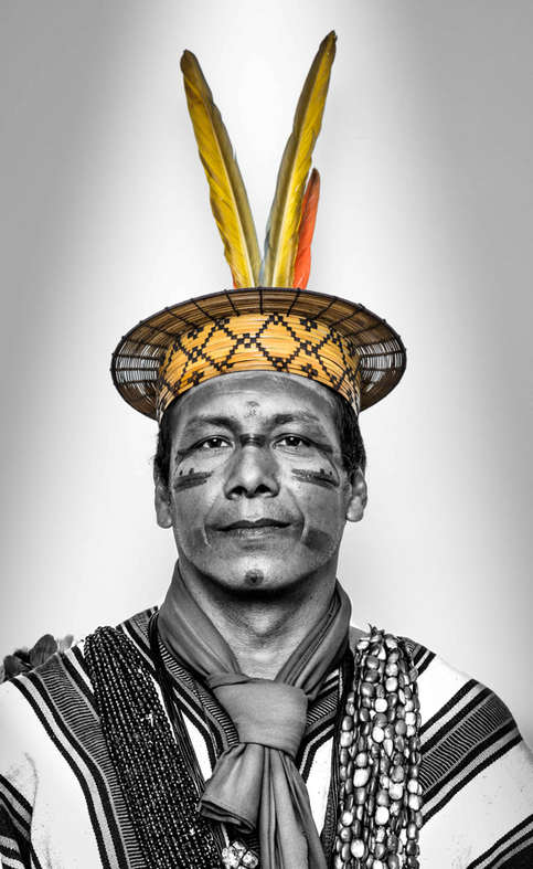 Moises Piyako,  Association of Ashaninka People of the Amônia River, Brasil...