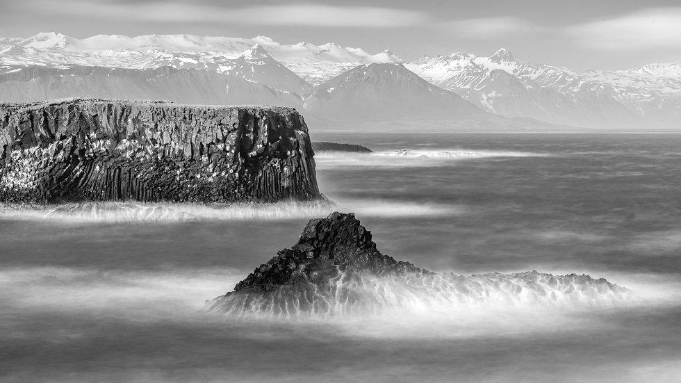 """Arnastapi,  Iceland (24""""x36"""")"""