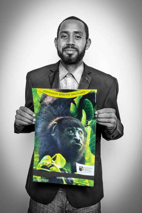 Conway Young, CBSWG,Community Baboon Sanctuary Women's Conservation Group, Belize...