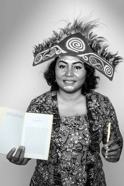 Stefani Arwakon, Homestay Business Association of the Raja Ampat, Indonesia...