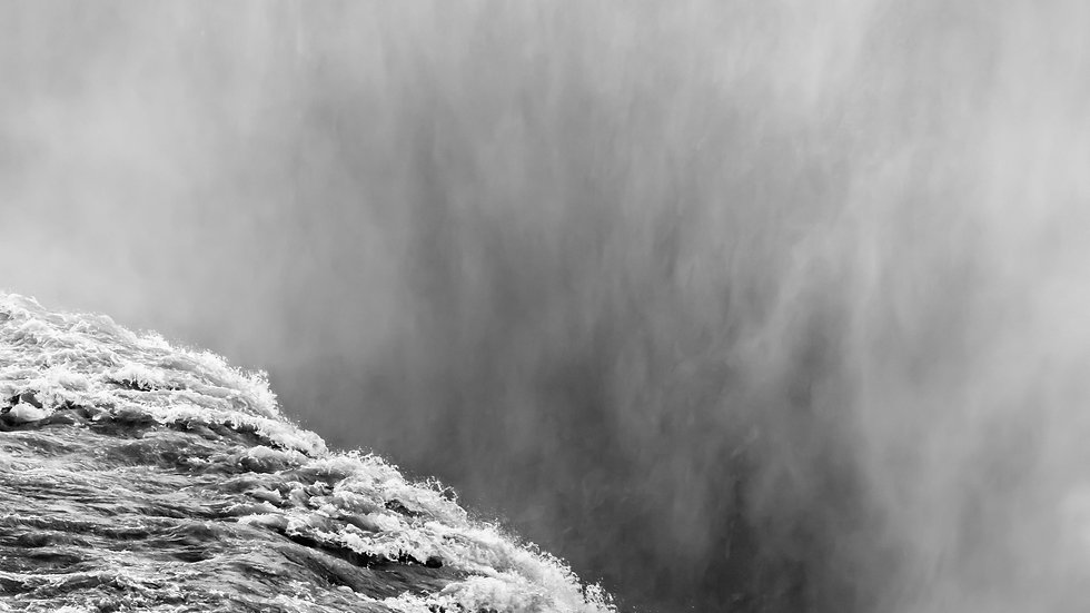 "Gullfoss Waterfall,  Iceland (24""x36"")"