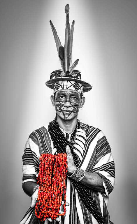 Maldete da Silva Pianco, Association of Ashaninka People of the Amônia River, Brasil...