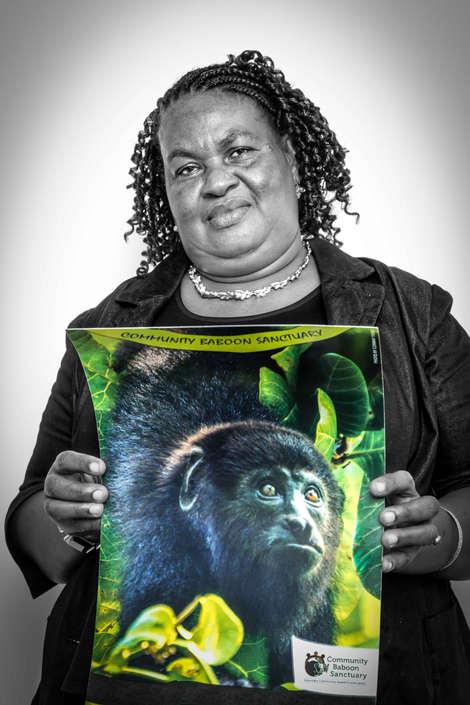 Doria Rahburn, CBSWG, Community Baboon Sanctuary Women's Conservation Group, Belize...