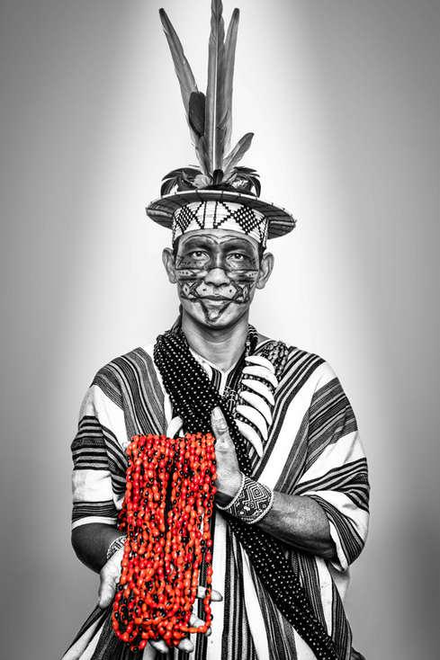 Benki Piyãko, Association of Ashaninka People of the Amônia River, Brasil...