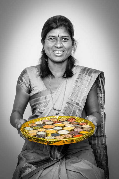 Kamal Shivling Kumbhar, Swayam Shikshan Prayog farming project, India...