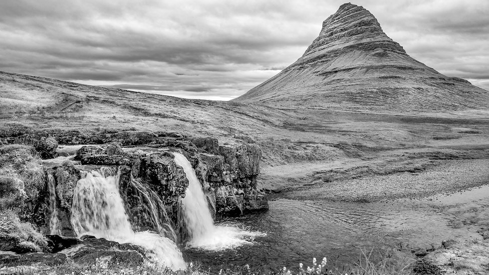 """Kirkjufell, Iceland (44""""x29"""")"""