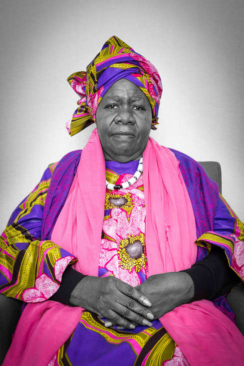 """Dr. Delois Blakely, """"Queen Mother"""" Founder of New Future Foundation, Ambassador of Goodwill, United Nations..."""