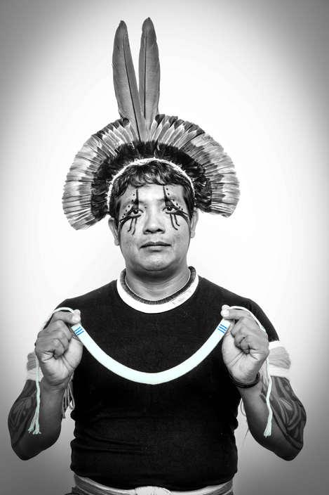 Iankulua Kaiabi Suia, Terra Indigena Xingu,Brasil...