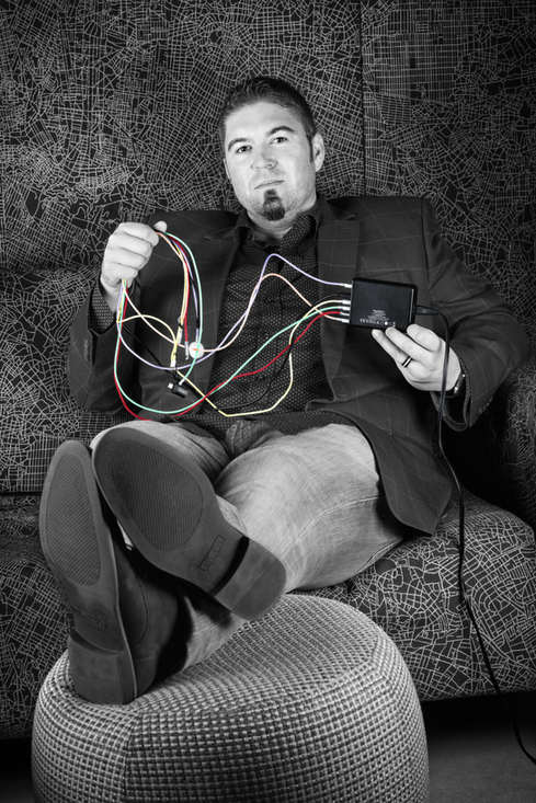 "Jeff Sparrow, tech entrepreneur, Chief Innovation Officer (aka ""Dot Connector"")..."