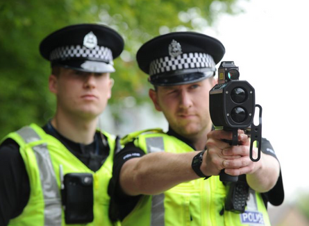 Police Speed Unit Operating Along Egley Road Today