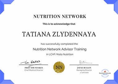 Tatiana Zlydennaya Certificate.jpg