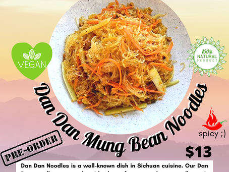 Our New Noodles are Dan-Dan-gerously Delicious!