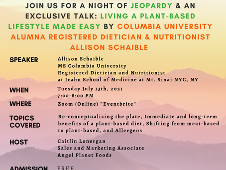 Come to Our Free Virtual Event to Speak with a Registered Dietician and Nutritionist