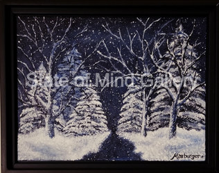 "Winters Night ""SOLD"""