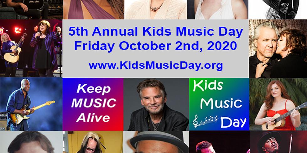 5th Annual Kids Music Day
