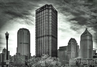 Pittsburgh Black & White