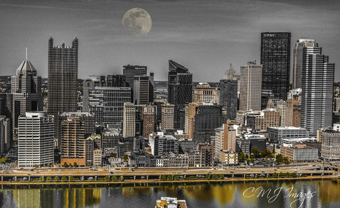 Moon Over Pittsburgh