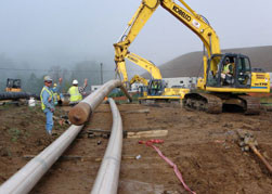 ClearPath has completed a 1000' Rock Bore in Morgantown, WV