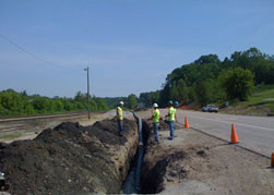 """ClearPath Utility Solutions hired to fusE 28,400 feet of 12"""" DIPS SDR 11 HDPE Pipe"""