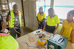 Radio station restoration provides collaborative training and employment project