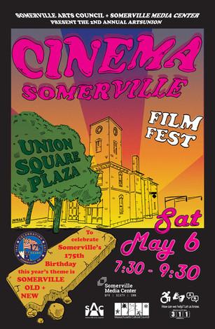 """""""Cinema Somerville"""" film festival poster"""