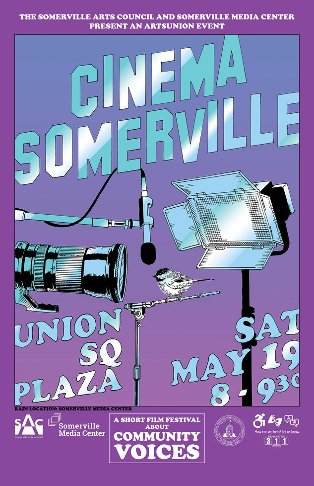 Cinema Somerville film festival poster