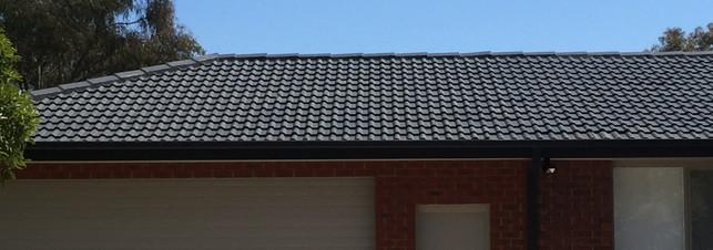 Tile roof restoration & paint