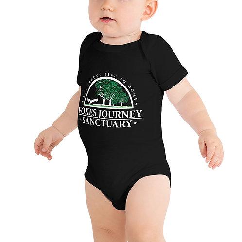 Baby Bodysuit White Logo