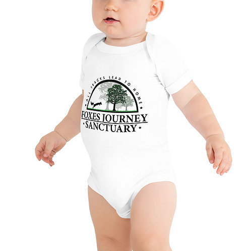 Baby Bodysuit Black Logo