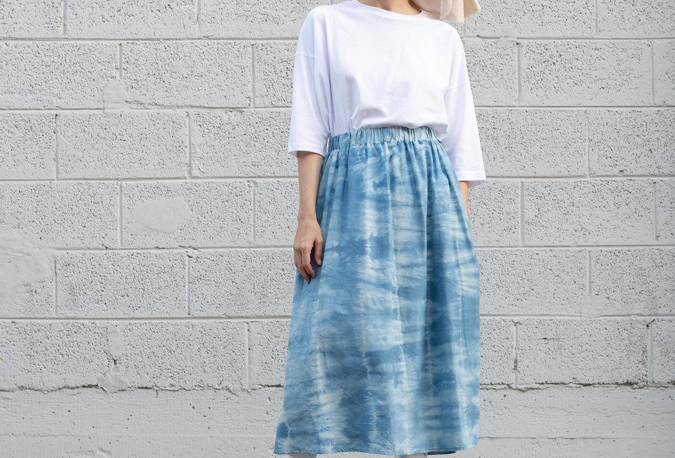 Shibori חצאית - Large