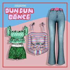 DUN DUN DANCE OUTFIT