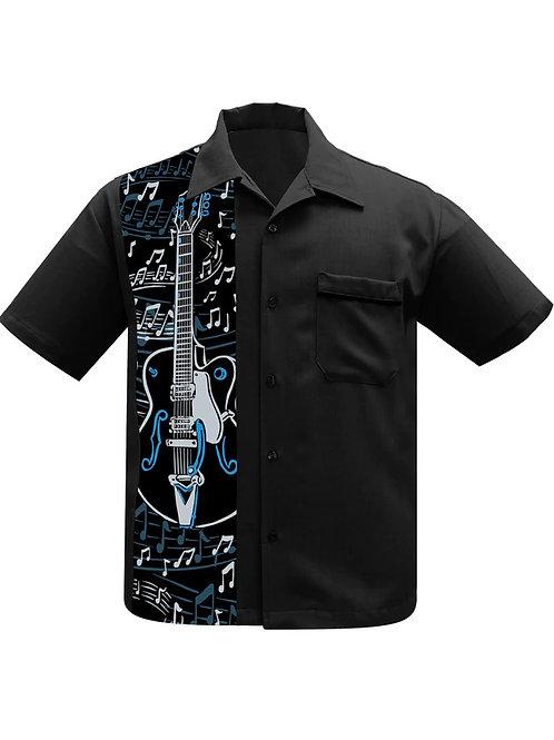 Guitar Panel Bowling Shirt