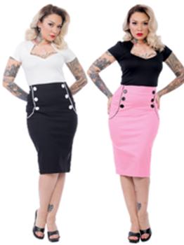 Vivian Wiggle Skirt