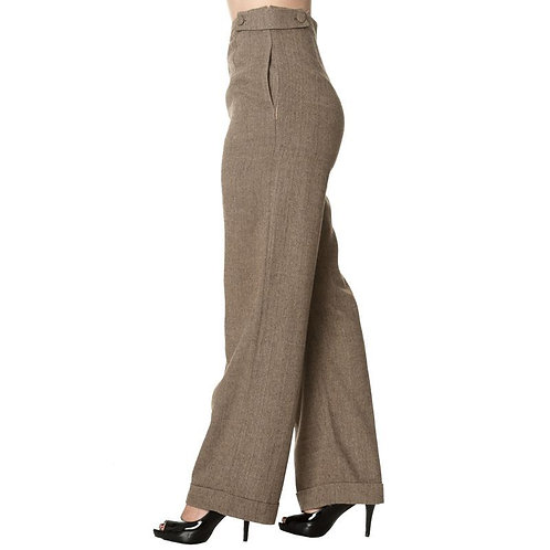 Dancing Days - Button Trim Trouser