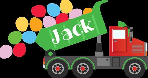Toddler Truck Sheet (No Name)