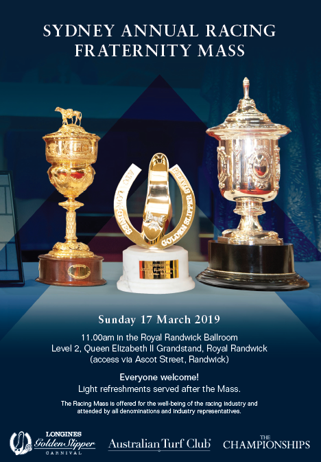 Join the Sydney Annual Racing Fraternity Mass