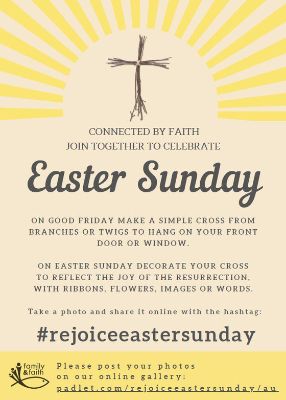 Connected by faith - Join together to celebrate Easter Sunday