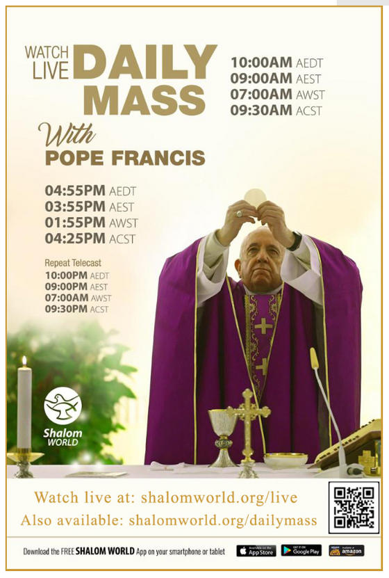 Daily Mass with Pope Francis
