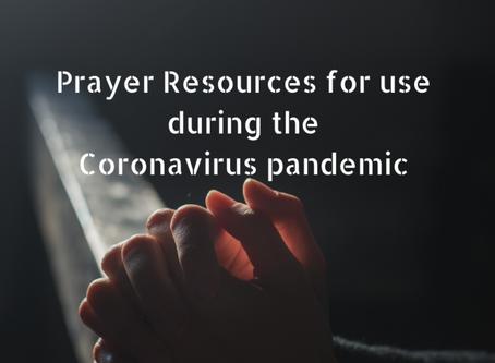 Prayer Resources during Corona virus pandemic
